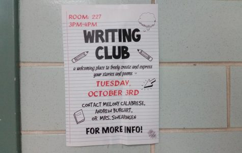 Writing Club arrives to AHS