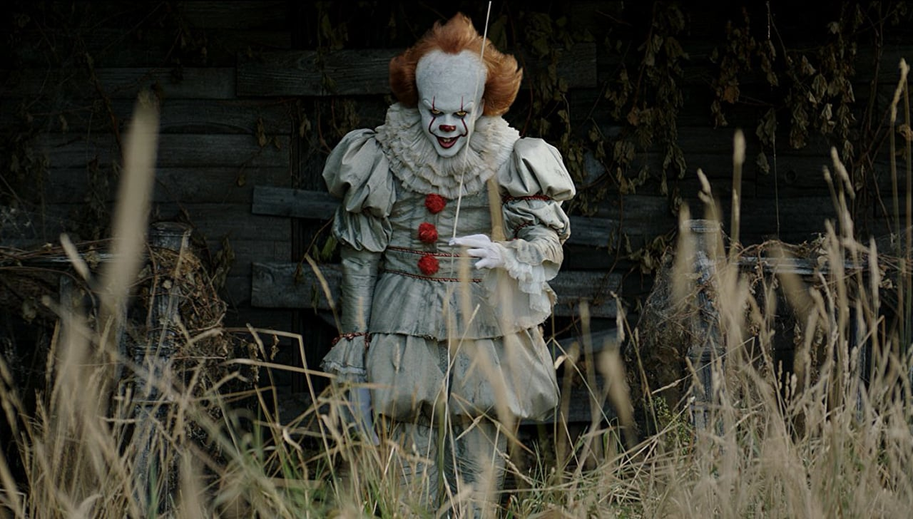Bill Skardgard as Pennywise the Dancing Clown in new horror movie 'IT.'