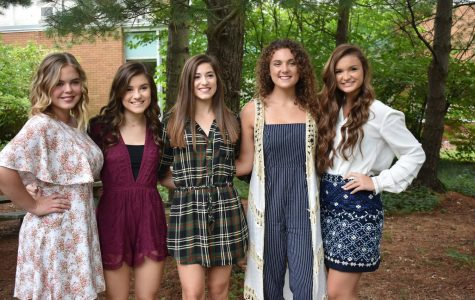 Introduction to Homecoming Court Queen Candidates