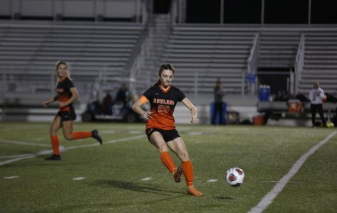 Arrow girls soccer team celebrate historic season after receiving district title