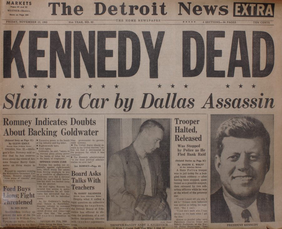 The assassination of JFK that still haunts America today