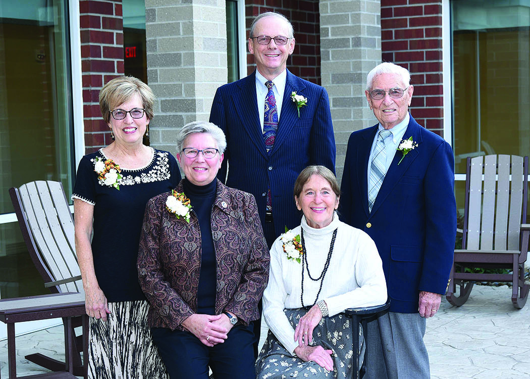 Pictured from left to right: Susan Gregg, Barb Queer, John (Jack) Hartman, Norma Wygant and Lloyd Wygant.