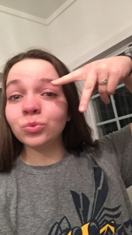 Editor-in-chief Caitlin B. (12) is caught crying and having a total mental breakdown after stressing out about not having a prom date.